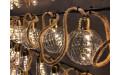 Фото:  Гирлянда ретро на бечевке с круглыми лампочками Luca Lighting теплый белый свет (10 ламп, длина гирлянды 315 см) Luca Lighting-1