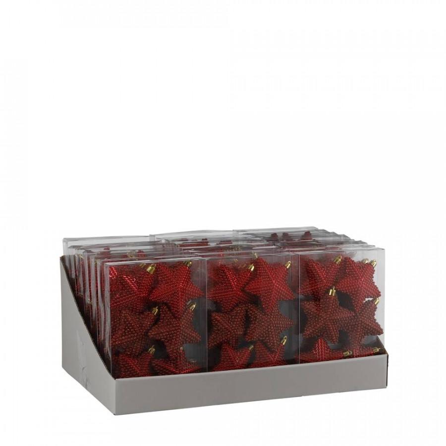 Фото:  Набор пластиковых звезд 6шт. красный House of Seasons