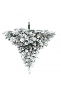 Люстра Праздничная диам. 89 см 48 ламп заснеженная