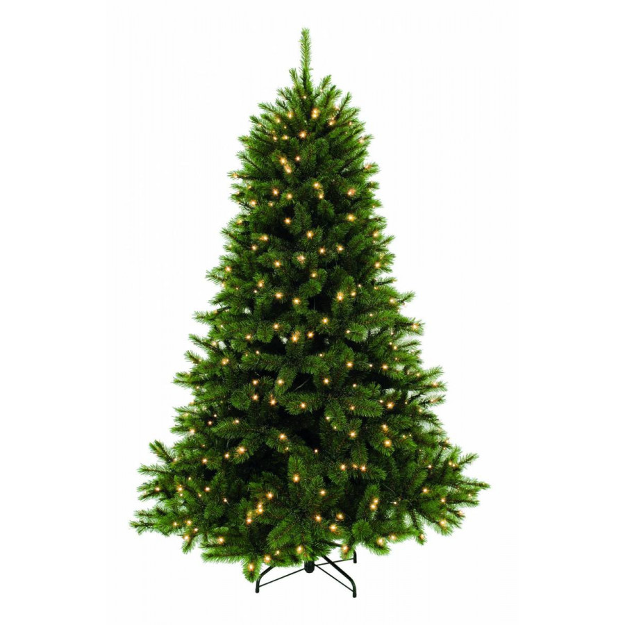 Фото:  Елка Лесная Красавица 120 см 96 ламп зеленая Triumph Tree