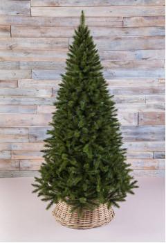 Елка Лесная Красавица стройная 155 см зеленая