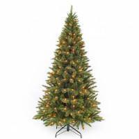 Елка Лесная Красавица стройная 230 см 304 лампы зеленая