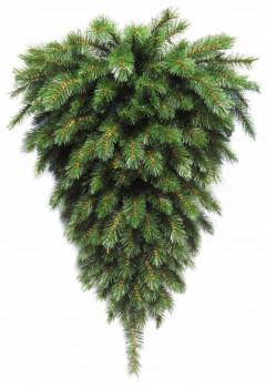 Триумф елка-перевертыш Лесная Красавица пристенная 90 см