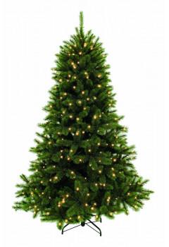 Елка Лесная Красавица 305 см 752 лампы зеленая