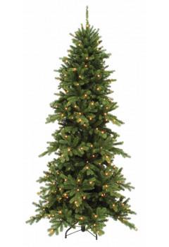 Сосна Изумрудная 185 см 160 ламп зеленая
