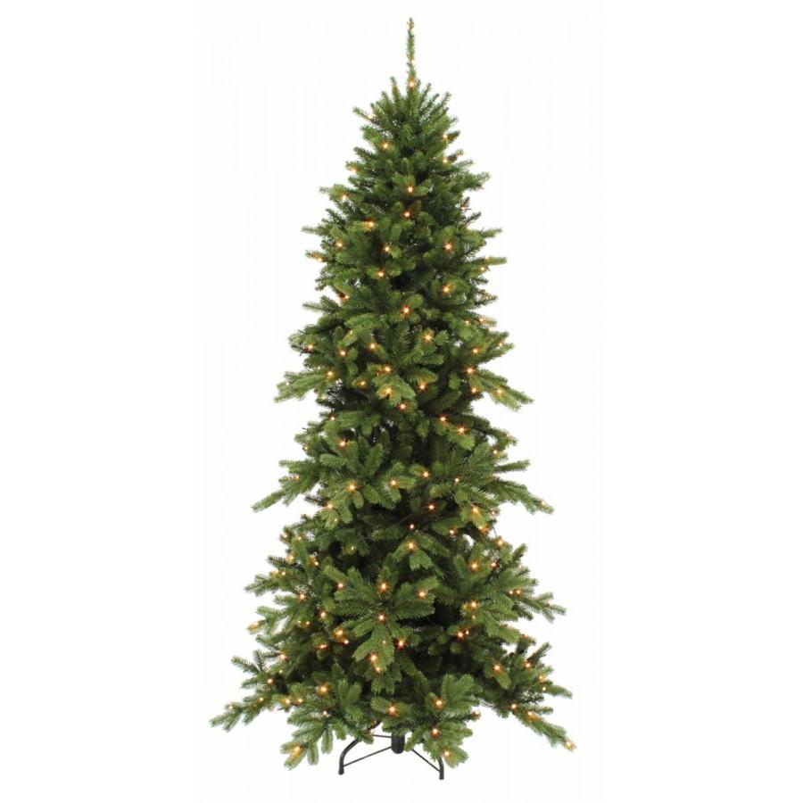 Фото:  Сосна Изумрудная 185 см 160 ламп зеленая Triumph Tree