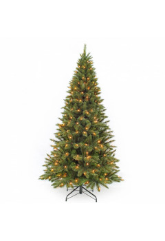 Елка Лесная Красавица стройная 120 см 88 ламп зеленая