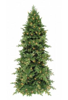 Сосна Изумрудная 155 см 120 ламп зеленая