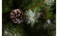 Фото:  Елка Императрица с шишками 230 см заснеженная Triumph Tree-2