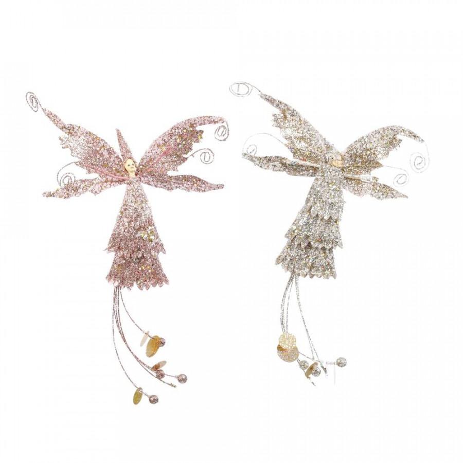Фото:  Подвеска фея 31х13х13 см шампань/персиковая House of Seasons