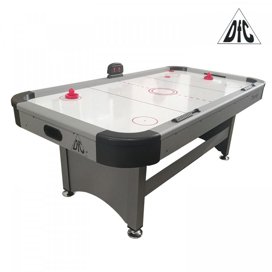 Игровой стол DFC THUNDER 7ft аэрохоккей купить - Магазин Аэрохоккей