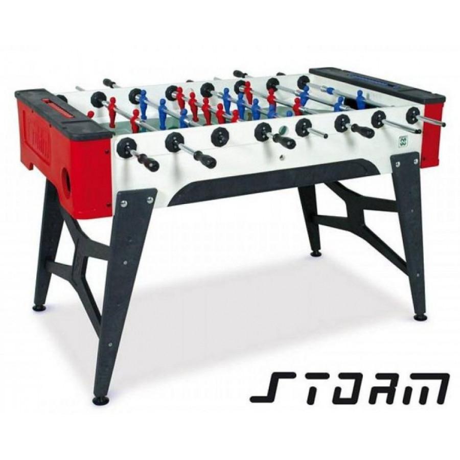 Всепогодный настольный футбол (кикер) «Storm F-1 family outdoor» (138x76x88 см) купить - Магазин Подарки